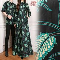 couple maxi dress rika gamis busana muslim dan kemeja batik