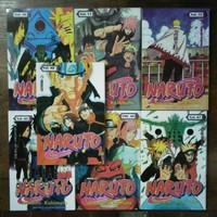 Paket 7 Buku Komik Naruto 65,66,67,68,69,70,71