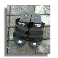 Sandal Pria - Wakai Hitam