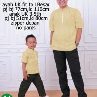 Baju  Koko Couple untuk Ayah dan Anak