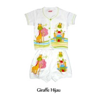 Setelan Baju Bayi Pendek Costly Usia 3 bulan, Baju Bayi 6 Bulan Pendek
