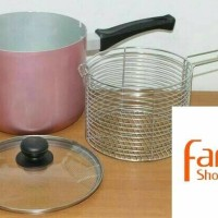 Promo PANCI MULTI FRYER 18CM ALCOR MASPION ASLI Murah