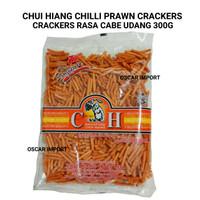 CHUI HIANG SINGAPORE CHILLI PRAWN CRACKERS 300