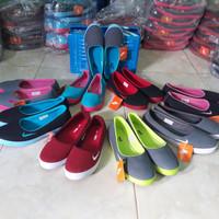 Sepatu wanita slip on nike balet Grade ori import size 36-40