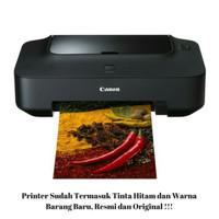 CANON INKJET PRINTER IP 2770 LENGKAP CARTRIDGE HITAM & WARNA ORIGINAL
