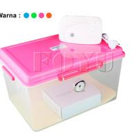 Quanta   Dry Box 19L Dengan Silica Gel Elektrik Quanta DB-4230