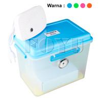 Quanta | Dry Box 9L Dengan Silica Gel Elektrik Quanta DB-3020