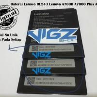Baterai Lenovo A7000 / Lemon K3 BL243 BL-243 Original 100%