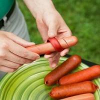 Hot Dog Slicer / Hot Dog Cutter (isi 2 pcs) Fancy Sausage Cutter Slice