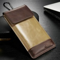 Leather Universal Pouch Phone Bag HP Samsung A3 A5 A7 2015 2016 2017