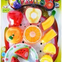 Mainan Anak Murah SLASH FRUIT BUAH POTONG 614 JTS