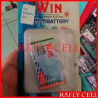 Win Baterai HP Blackberry Q10 BB Double Power Batre Battery