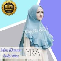 [MASA KINI], Hijab Jilbab Instan Untuk ke Kantor Mini Lyra Best Seller