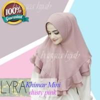 [BAHAN LEMBUT], Hijab Jilbab Instan Untuk ke Kantor Mini Lyra Terbaru