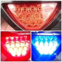 (Diskon) Lampu stop Stoplamp model F1 led aksesoris motor mobil