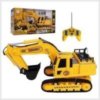mainan rc alat berat mobil remote control excavator digger beko truck