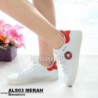Sepatu Wanita Converse All Star Sekolah Terbaru Murah Meriah ALS03