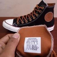 Dijual Sepatu All Star Converse Classic Peached Ox Hitam Tinggi Murah