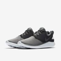 ORIGINAL Sepatu Lari Nike LunarSolo // Dark Grey/Black/Pure Platinum