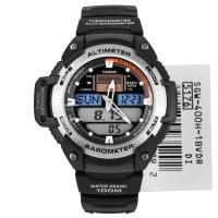Jam Tangan Casio Pria SGW400H-1BV digital analog barometer altimeter