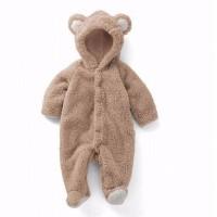 BDC1311 Bayi baru lahir baju monyet kostum musim dingin bayi laki-laki