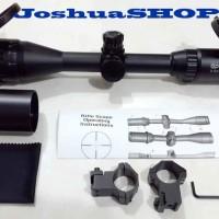 Telescope / Teleskop Senapan Spike 3-12x40 AOL