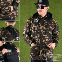 TERBARU jaket premium parka pria loreng army jaket pria wanita keren