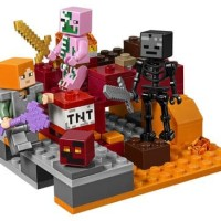 Lego Minecraft My world 18034 The Nether Fight