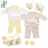 PTI1503 HH 100% katun 18 pcs/set Baru lahir bayi laki-laki pakaian 0-3