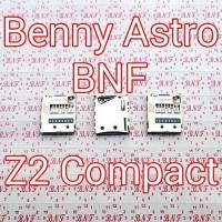 Konektor Memory Card - Sony Xperia Z2 Compact - A2 - SO-04F - Docomo