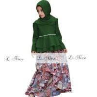 Jual Baju Muslim Anak Model Terbaru Import LNICE 1 2 3 4 Tahun AGS3923