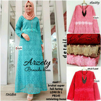 arzety brocade dress maxy apple