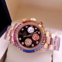 Jam Tangan Rolex Oyster Perpetual Superlative Chronometer Rosegold