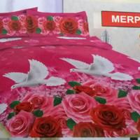 Bedcover bonita merpati 180x200