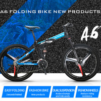 Folding Bike Sepeda Lipat Frame Aluminum 26 inch 27 Speed A6