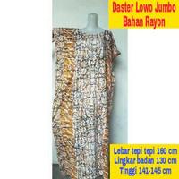 Daster Lowo XXL Jumbo Besar Long Dress Hamil Baju Tidur Batik Santai