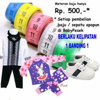 Meteran Baju / Badan Spesial Promo Dengan Pembelian Di Baby Pesek