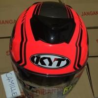 Best Seller Helm KYT Kyoto red fluo stabilo