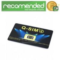 Q-SIM4 Automatic Unlock 4G LTE for iPhone - No Color
