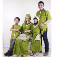 Seragam keluarga muslim couple baju branded sarimbit murah koko gami
