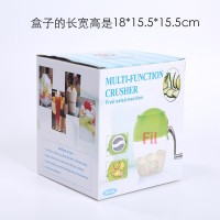 alat Serutan es manual ice shaver fruit smoothie machine portable