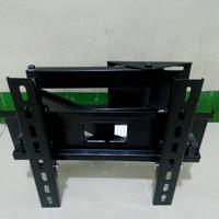 "Braket LED TV tarik bisa maju mundur ukuran 20""-32"""