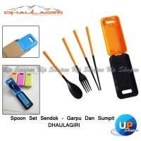Spoon Set Sendok - Garpu & Sumpit Dhaulagiri