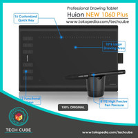 Huion New 1060 PLUS Drawing Tablet