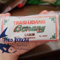 Trasi udang cap Bonang / terasi udang