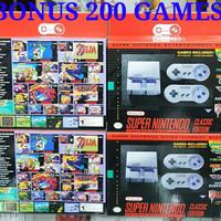 Jual SUPER NINTENDO SNES CLASSIC EDITION WITH 200 GAMES Murah