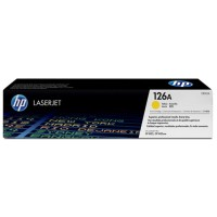 HP 126A Toner Yellow Original untuk Printer HP 1025