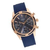 Jam Tangan GUESS Wanita Navy Blue Rose Gold Watch W0562L3