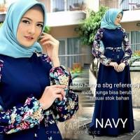 New atasan wanita kaffa dress gamis baju muslim keren