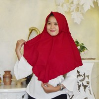 Kerudung Hijab Jilbab Instan Remaja Thalita Maron Terbaru